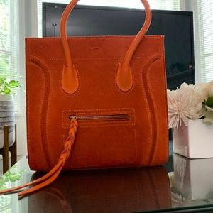 Orange Suede Bag